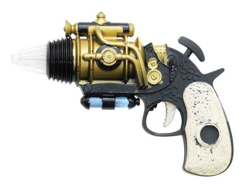 Steampunk Revolver Steam Punk Victorian Adventurer Novelty Plastic Toy